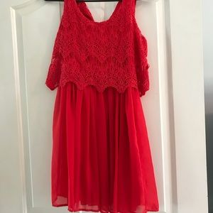 Dresses & Skirts - Red cocktail dress, size small